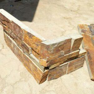 Kamenný obklad rohový prvek